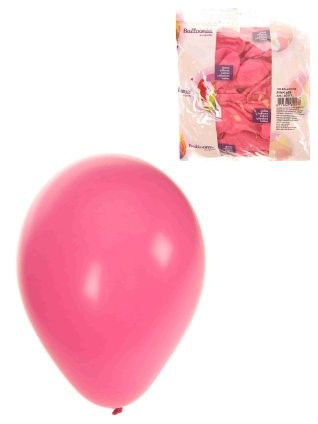 Helium balloons Pink 100 pieces