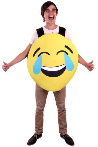 Emoticon Smiley smiling Emoji costume