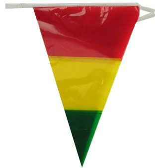 Flag line red yellow green 60m