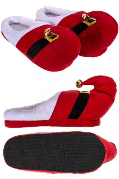 Christmas gnome cuddly slippers