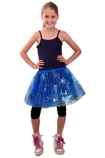 Tulle skirt ice princess girl