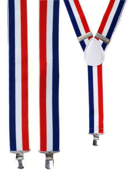Suspenders red - white - blue Netherlands