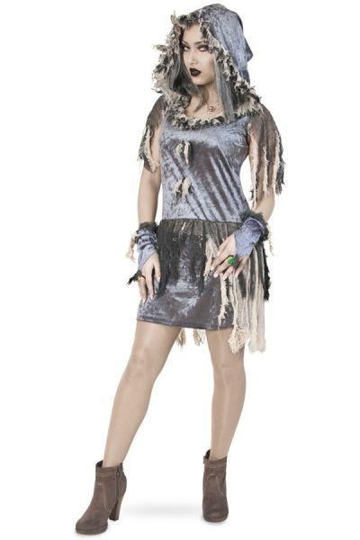 Sexy Zombie bridal dress