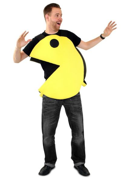 Emoticon Pacman Bite Costume Emoji Party Supplies Party Costumes Party Dress Buy It At Partylook Com
