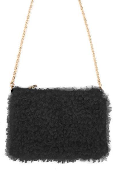 Bag curly black