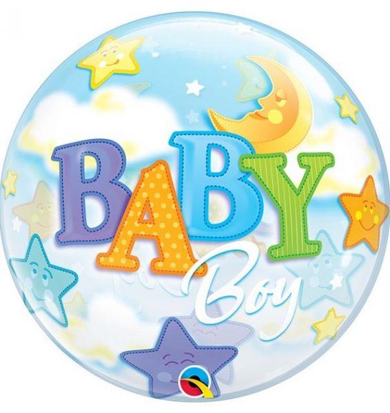 Bubble Balloon Baby Boy