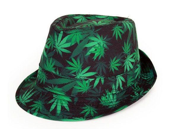 Slit hat weed leaf