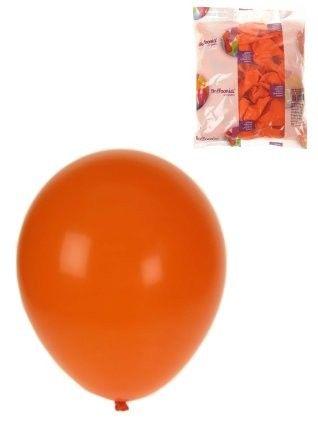 Helium balloons Orange 100 pieces