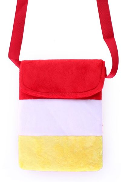 Bag red white yellow