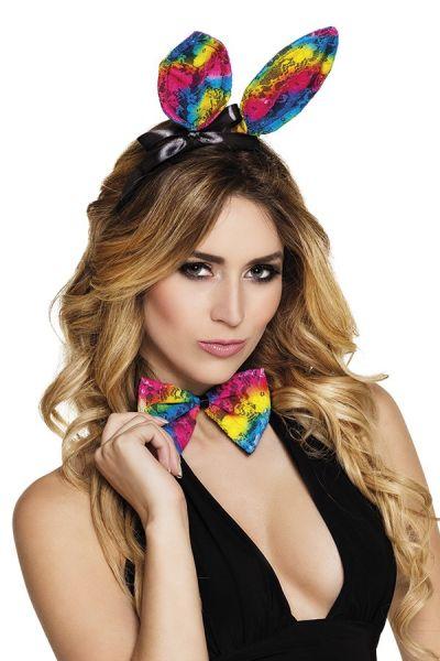 Bunny set Rainbow gay pride