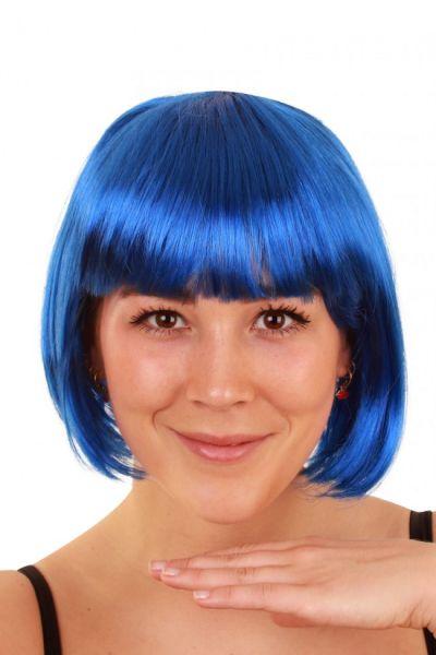 Bobline wig blue