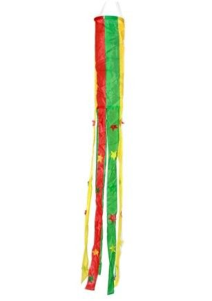 Windsock red yellow green