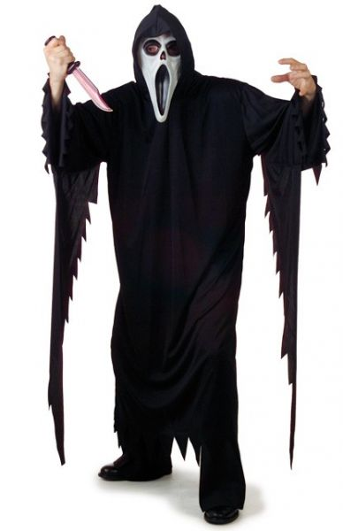 Halloween Horror robe Scream adults