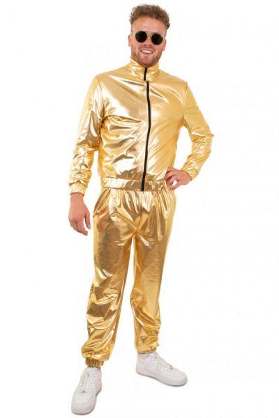 Gold Tracksuit Men