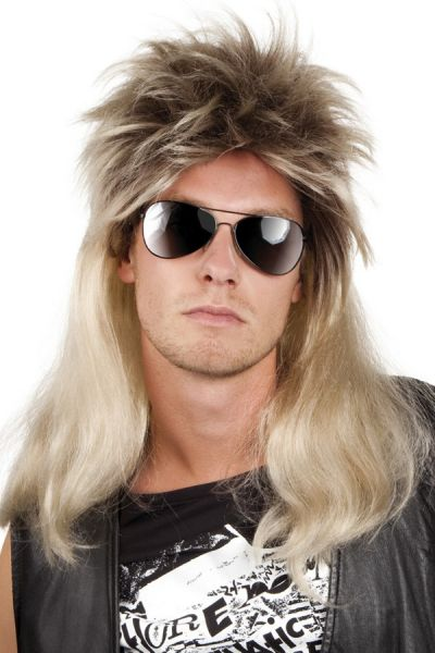 Rocker Wig Ryan blond