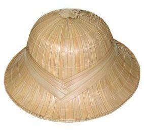 Tropical helmet hard straw