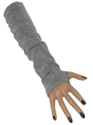 Gala arm warmers lurex silver 60 den