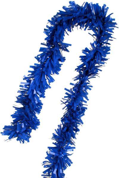 Foil twist garland blue