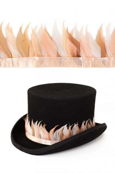 Feather ribbon peachtree 3m