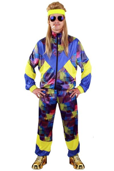 Colorful Tracksuit 80s style