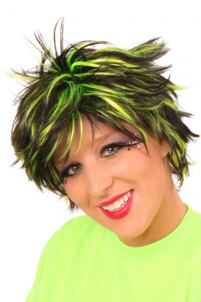 Glitzy wig wave