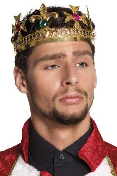 Luxury King crown metal