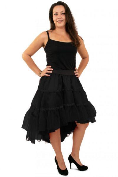 Black petticoat sloping