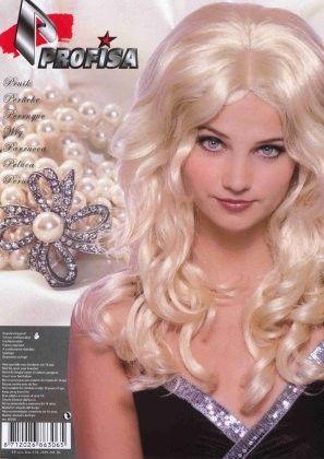 Damespruik blond Jody