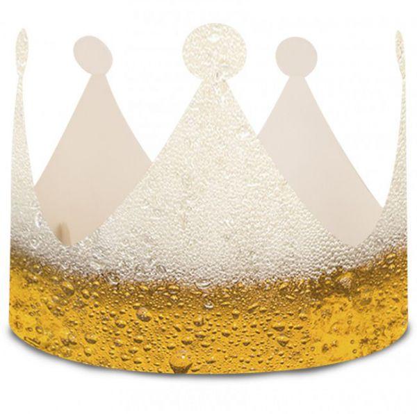 Funny beer crowns