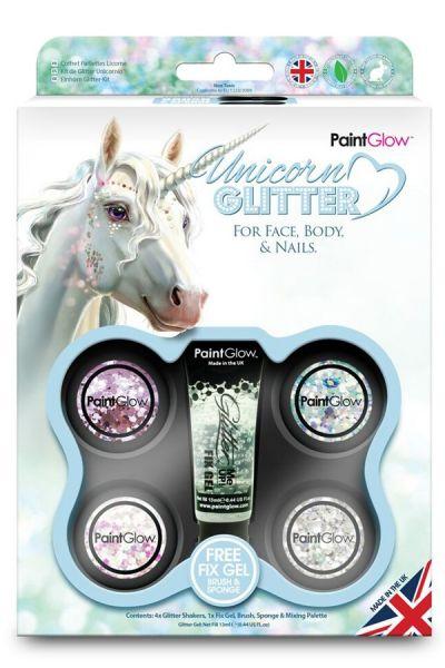 Box Unicorn Chunky Glitter