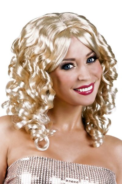 Cocktail wig blond