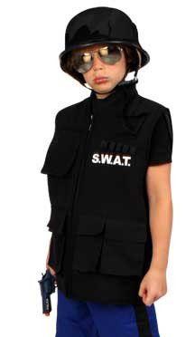 Tough S.W.A.T. vest child
