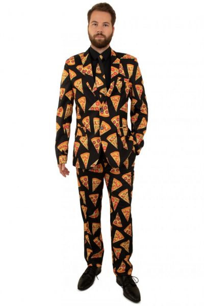 Funny 3-part Pizza costume