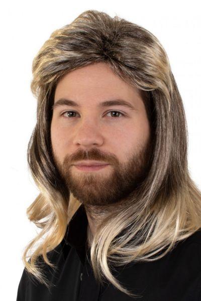 Mens Wig blond Johny melange