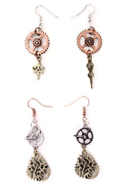2 Pair of Steampunk earrings