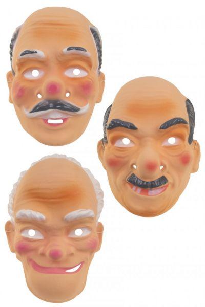 Various grandfather masks