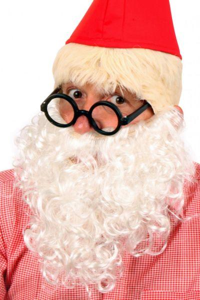 Beard curl white gnome Plop