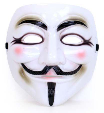 Vendetta mask plastic