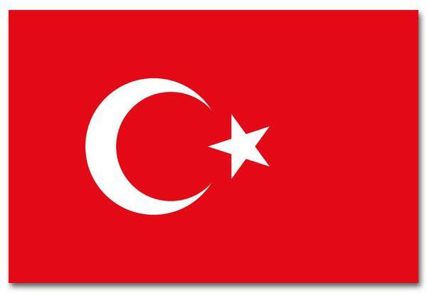 Turkish Flag Turkey 90x150 cm