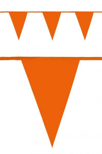 Flag line orange 120m party decoration