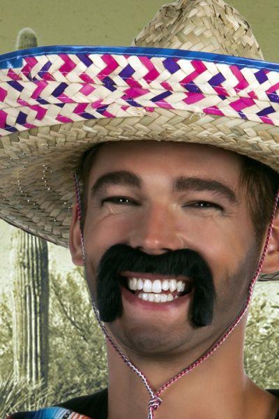 Mexican mustache black