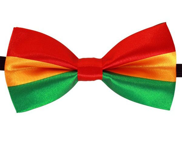 Bow tie red yellow green