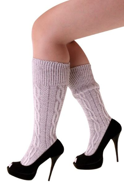 Oktoberfest Tyrolean socks short gray