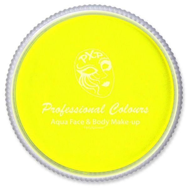 PXP Aqua face paint neon yellow PartyXplosion