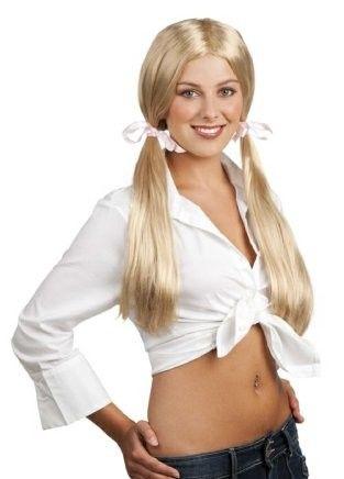 Wig schoolgirl blond