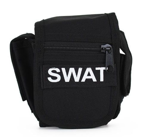 Belt bag black SWAT team