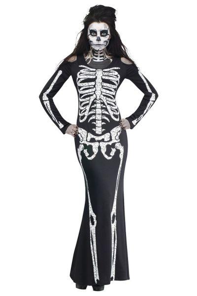 Halloween Skeleton bones dress
