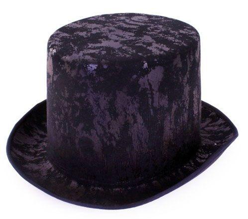High hat old antique black