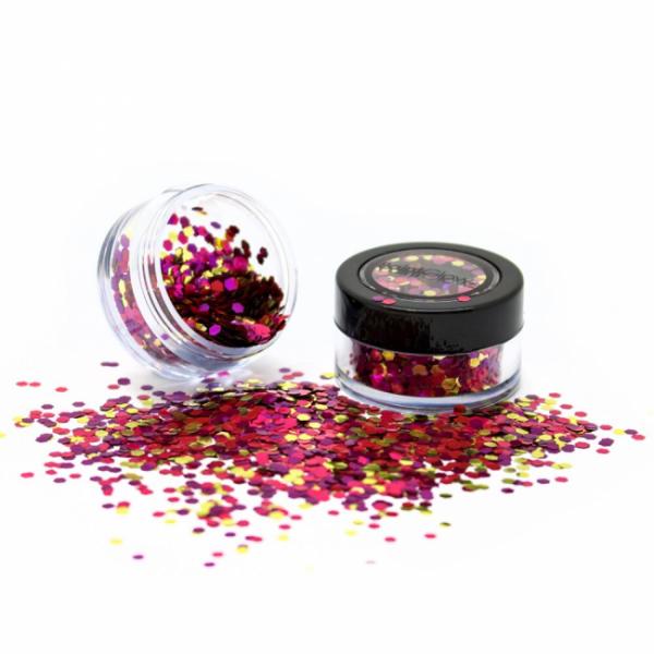 PaintGlow biodegradable cosmetic glitter mixes Sea Urchin