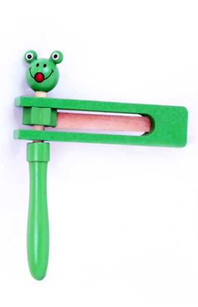 Ratchet green with frog head